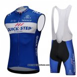 2018 Gilet Antivento Quick Step Floors Blu